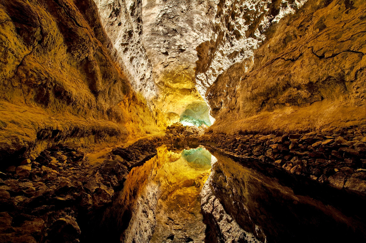 Las Cuevas de los Verdes lanzarote kanári-szigetek utazás viasale travel