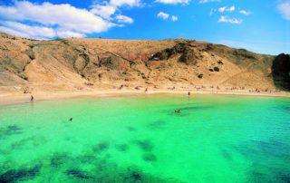 Playa de Papagayo Lanzarote strand