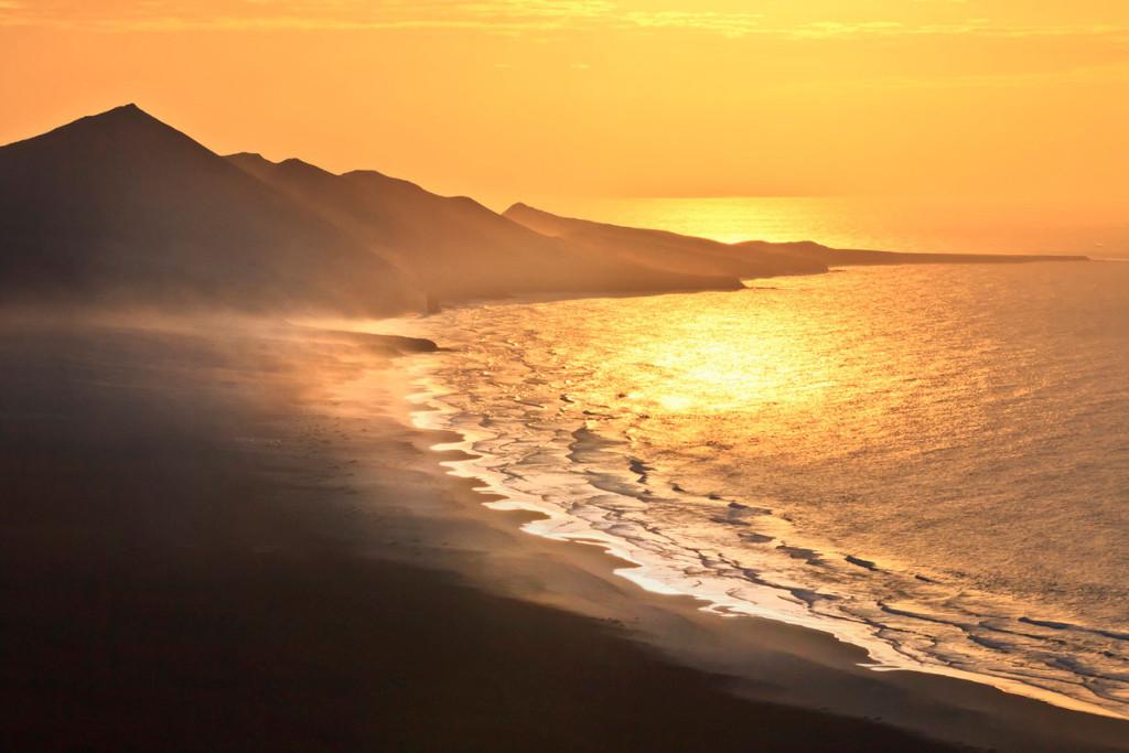 Naplemente Cofete strandján - Fuerteventura