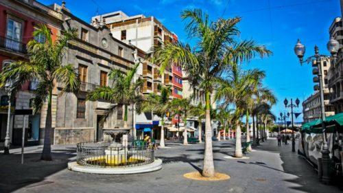 Tenerife-Candelaria, La Laguna, Santa Cruz városnézés magyarul
