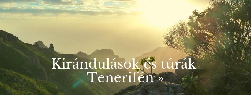 Kirandulások, túrák Tenerifén