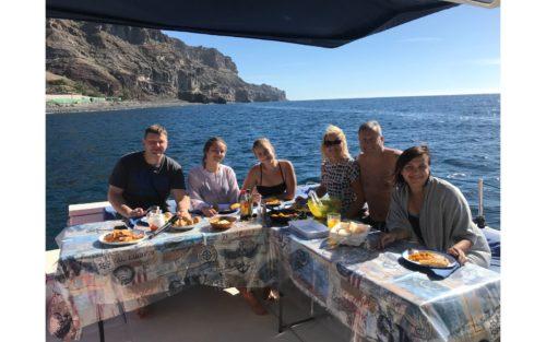 Luxus-Katamarán-Túra-Naplementében-Gran-Canaria
