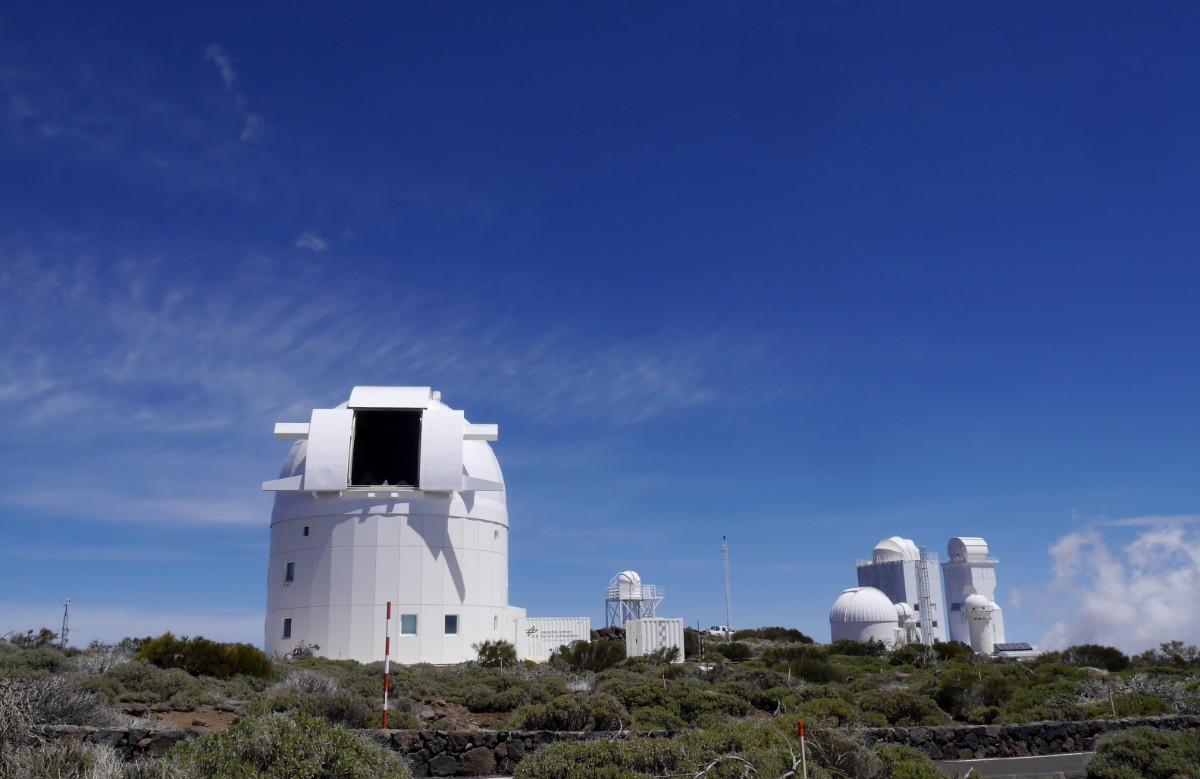Tenerife - obszervatórium - világ 3. legnagyobb teleszkópja