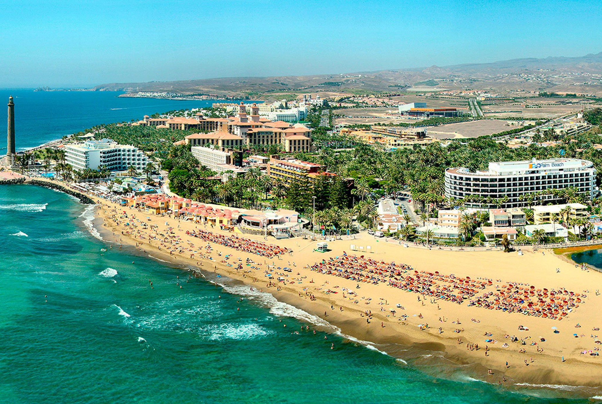Maspalomas2 Legjobb nyaralóhelyek Gran Canarián európai biztonság kiváló szolgáltatások 2